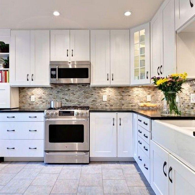 55 impresing white kitchen design ideas page 53 of 56 in 2020 white kitchen design kitchen on kitchen cabinets not white id=26211