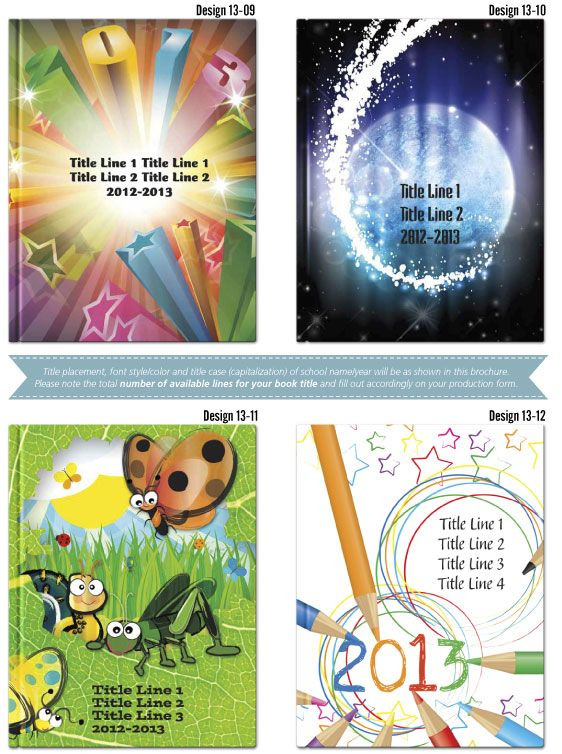 Book Cover Ideas Primary School : Yearbook covers cover ideas school