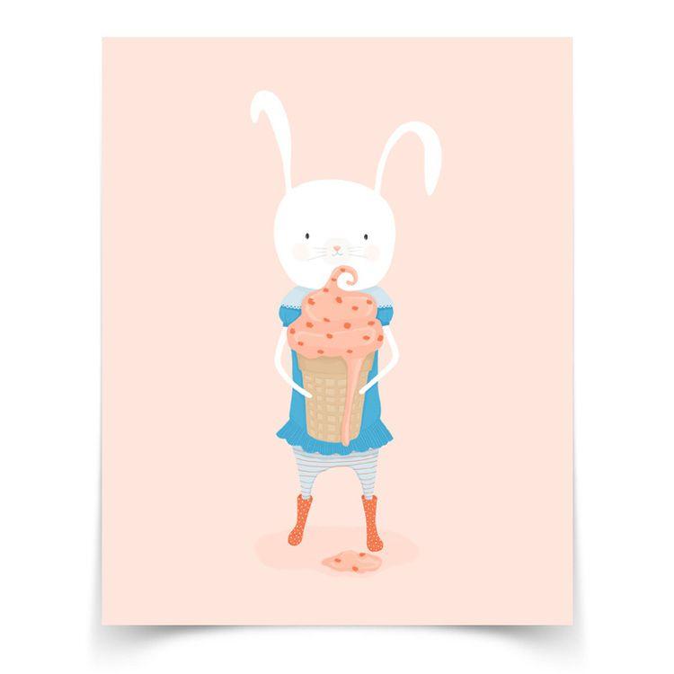 carrot cake ice cream cone