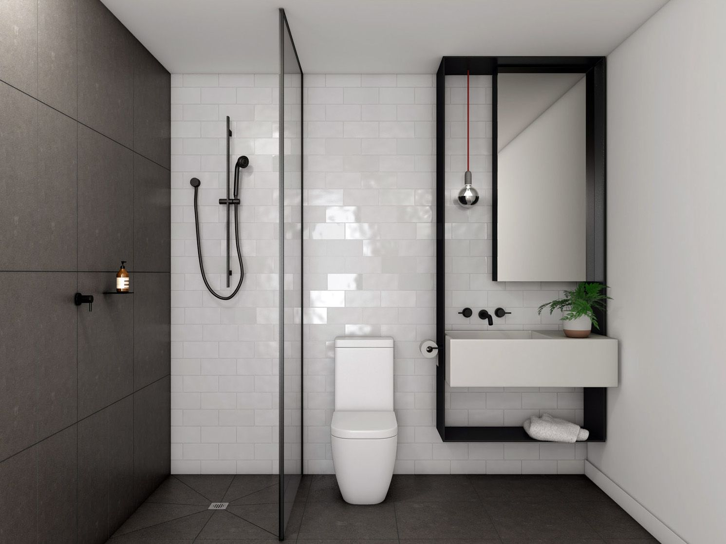 Beautifully Resolved Bathroom With Images Small Bathroom