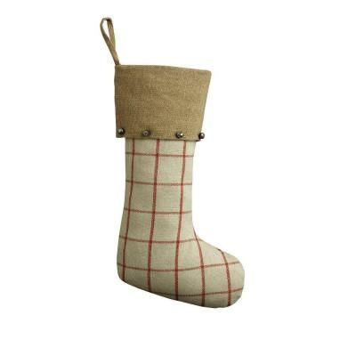 Home Decorators Collection American Traditional 20 in Red Plaid