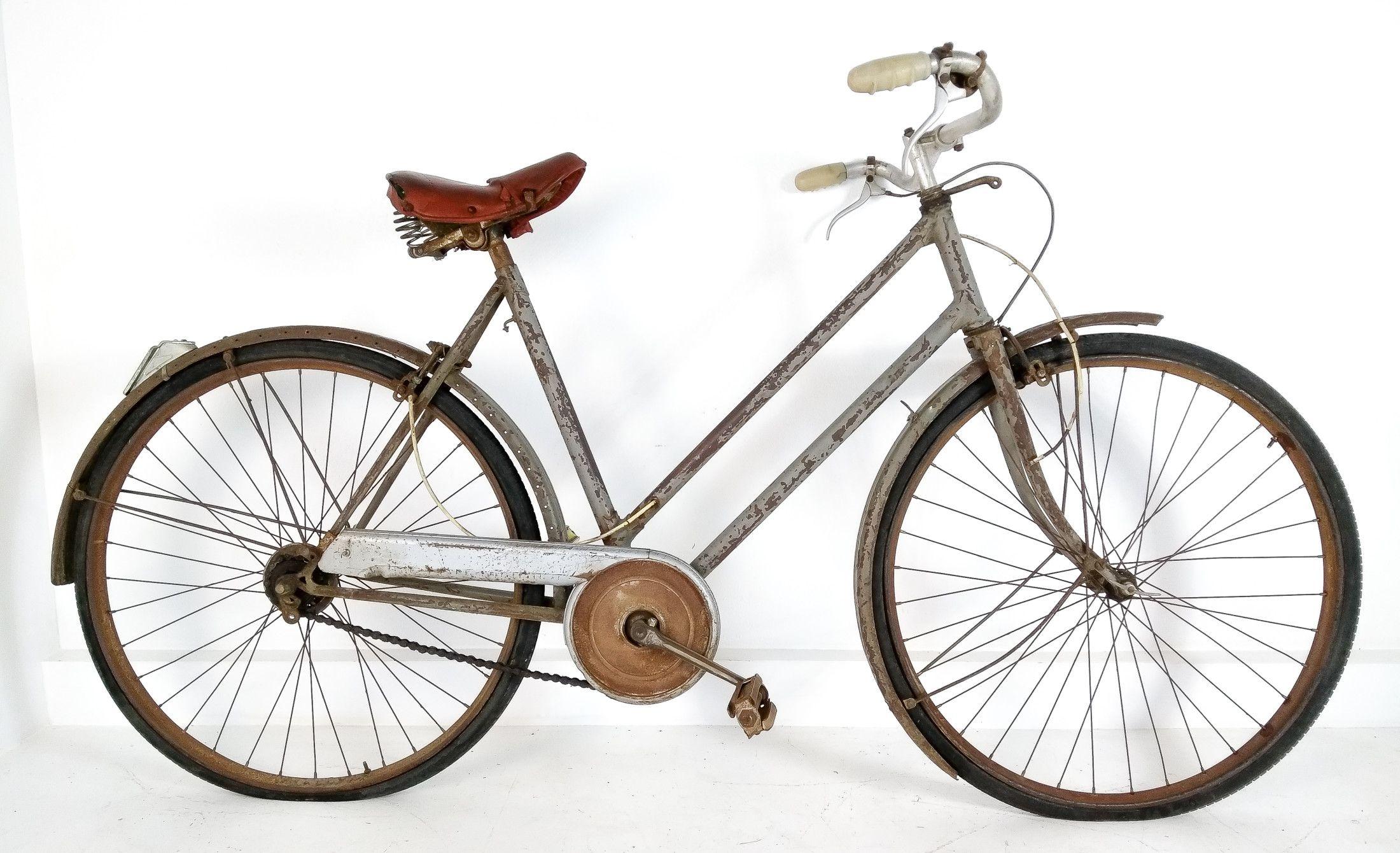 Bicicletta Depoca Della Legnano Wolsit Con Manubrio Ambrosio Super