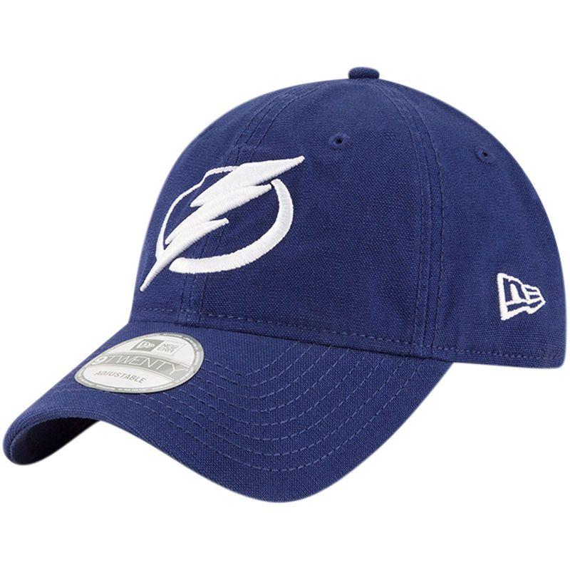 nice shoes los angeles exclusive range Tampa Bay Lightning New Era Core Shore 9TWENTY Adjustable Hat ...