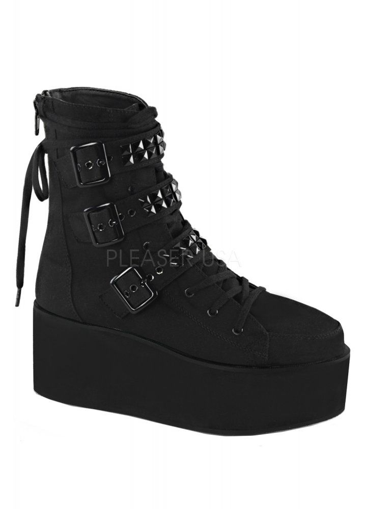 Demonia Grip 101 Boot. Lace Up BootsAnkle BootsBlack ...