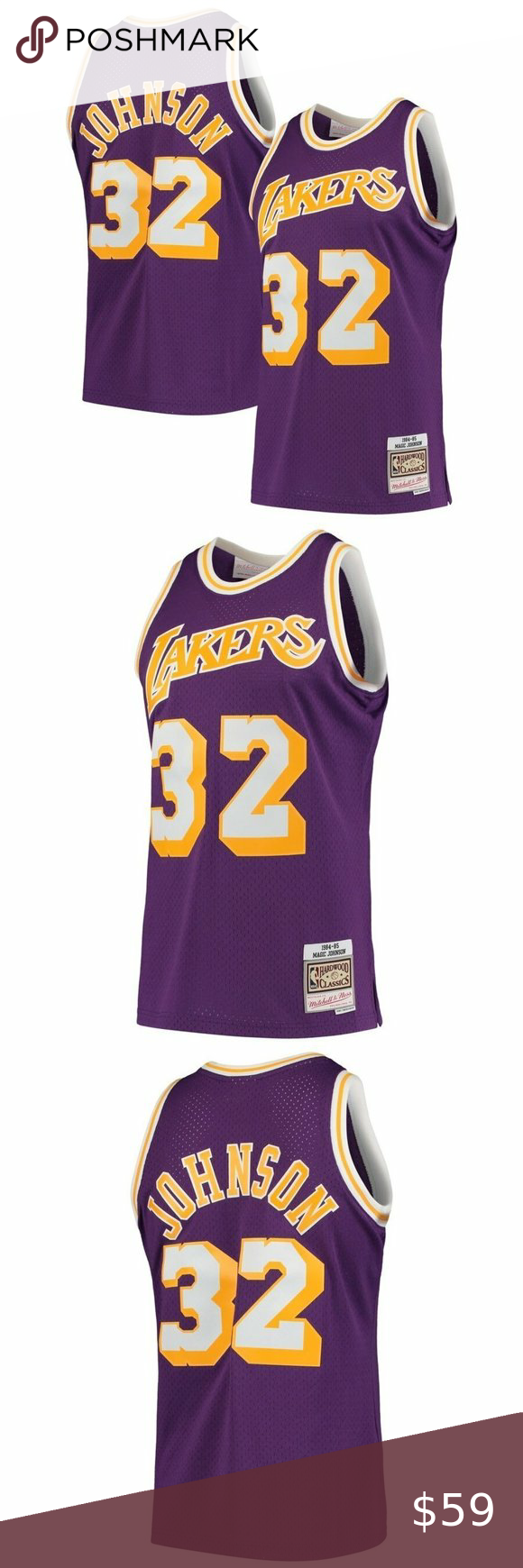 Nba Nike Los Angeles Lakers Magic Johnson 32 Please Place Order By Visiting Our Online Store Nbaonsale Com Los Angeles Lakers Game Day Shirts Magic Johnson