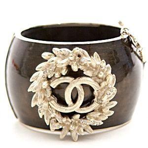 Chanel Cuff Bracelet Rare Collectors Item