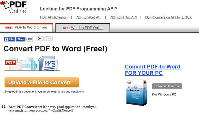 PDF to Word converter Online Free without Email - 6 Best