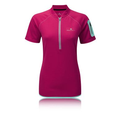 Ronhill Trail Half Zip Short Sleeve Women's Running T-Shirt - SS15 picture 1