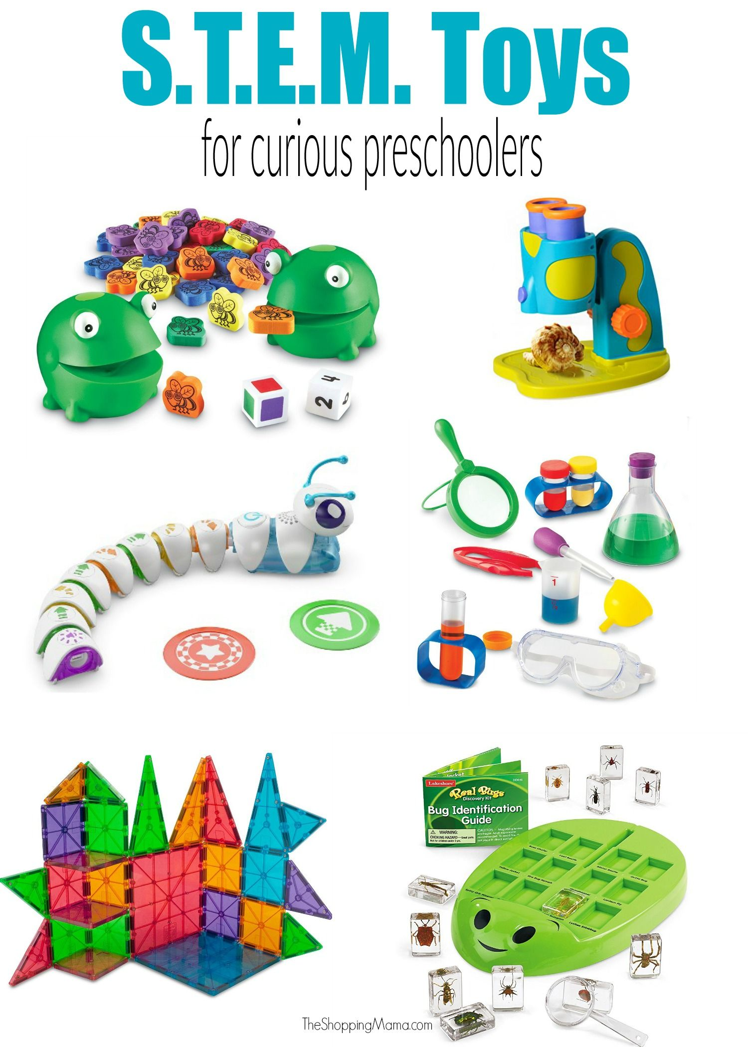Toy Tuesday STEM Toys for Preschoolers