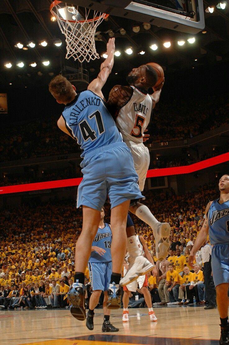 4ba456bfc Baron Davis the dunk