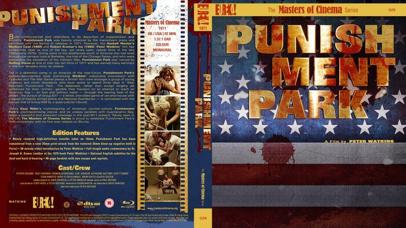Punishment Park  Blu-ray Custom Cover