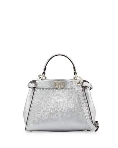 Fendi Handbags Metallic