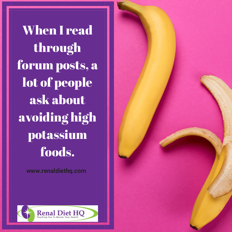 What Foods Should I Avoid On A Renal Diet? Let's Talk