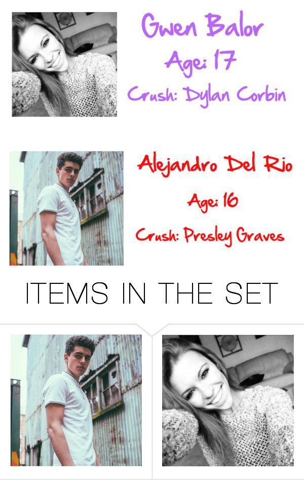 """""""Gwen and Alejandro"""" by wwegirl2424 ❤ liked on Polyvore featuring art"""