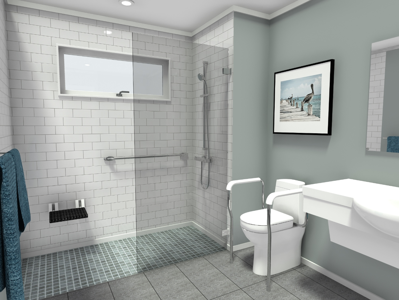 How to Design a Wheelchair Accessible Senior Bathroom with ...