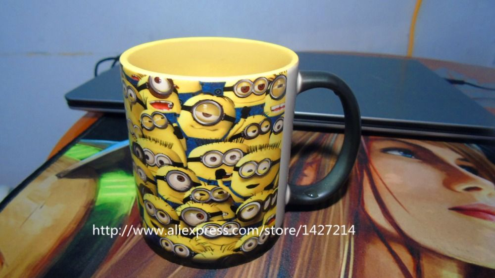 Despicable Me Multi Minions Custom Changing Color Morphing Photo