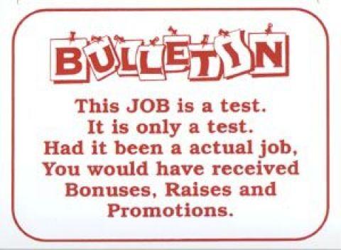 bulletin board sign