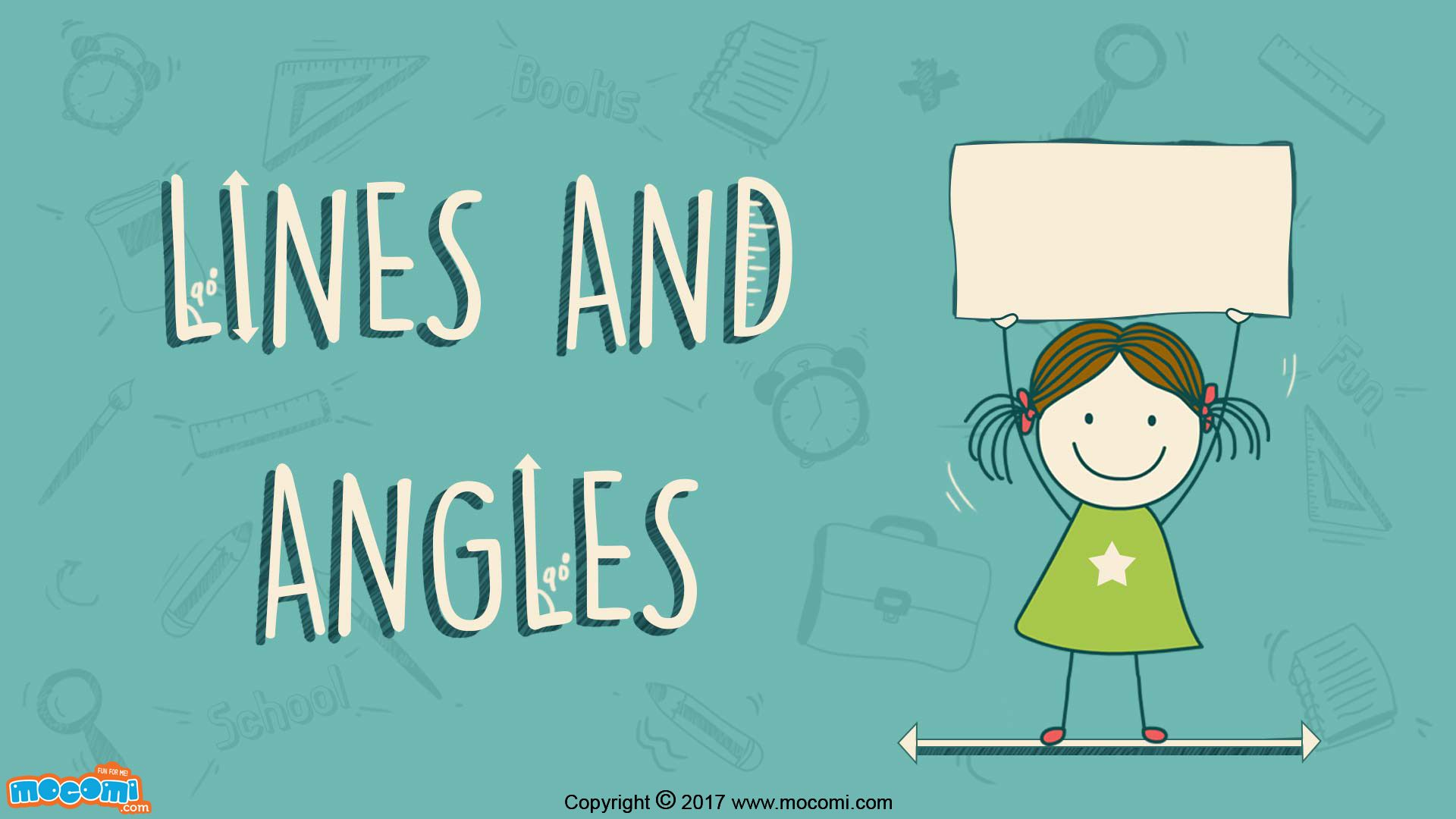 Introduction to Lines and Angles - Maths for Kids | Maths, Learn ...