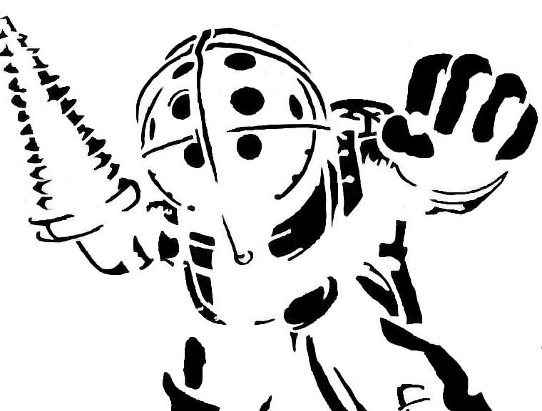 Bioshock | Stencil Templates | Pinterest | Bioshock