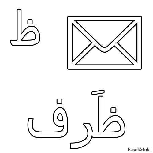 اوراق عمل للاطفال لتعليم الحروف وكتابتها والتلوين شيتات تعليم حروف اللغه العربيه للاطفال للطباعه Arabic Alphabet For Kids Learn Arabic Alphabet Arabic Alphabet