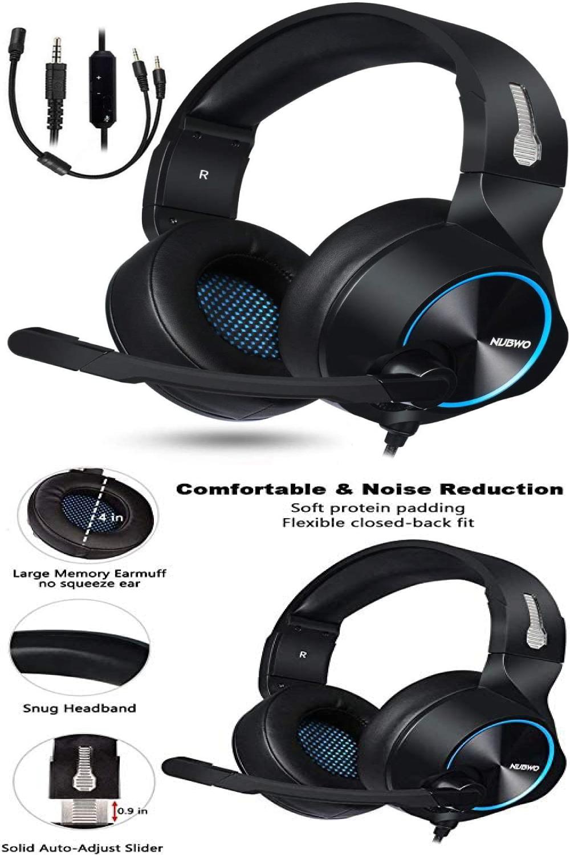 Astro A50 Gamestop : astro, gamestop, NUBWO, Gaming, Headset, Nintendo, Switch, Headset,, Headphones