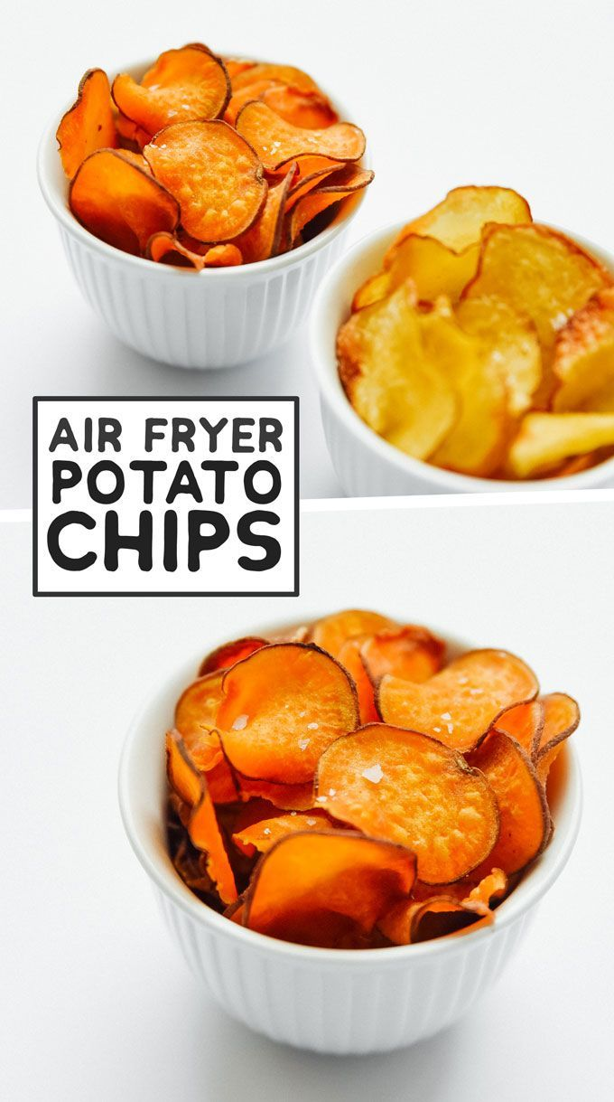 How to Cook Air Fryer Potatoes (Baked, Fries, and Chips!)