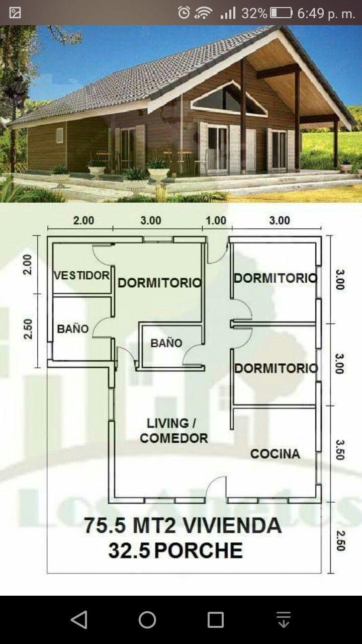 Pin de pedro castillo en architecture interior desing en for Casas prefabricadas pequenas