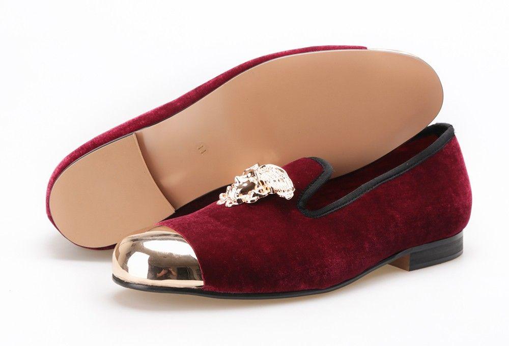 Piergitar Shoes - Versace Design Gold