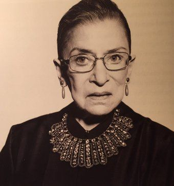 23d71f2eb RBG Dissent Collar | Feminista | Collar tattoo, Collar necklace ...