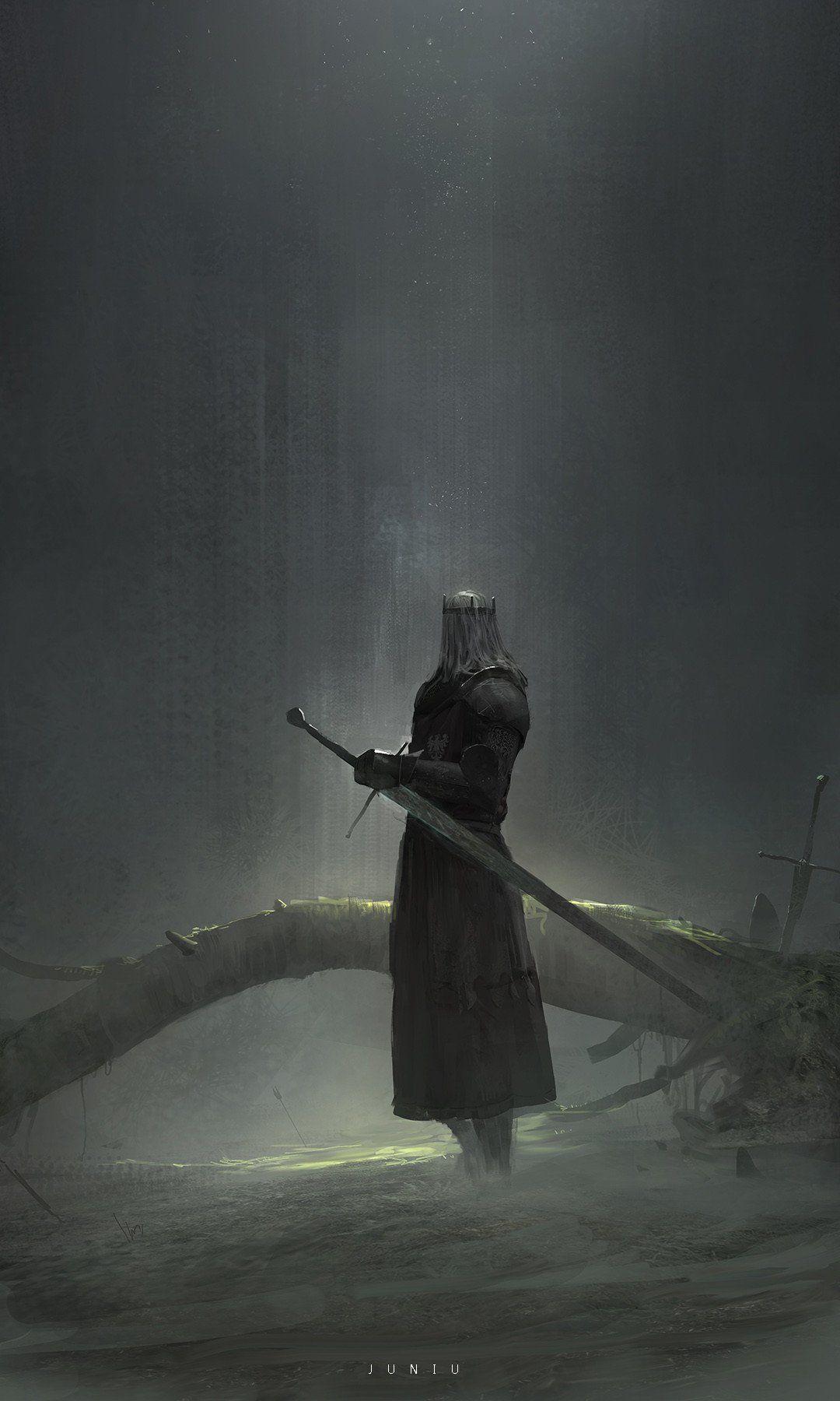 Knight By Ben Juniu Imaginaryknights Dark Fantasy Art Fantasy