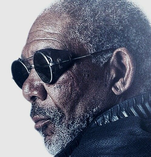 4423299d44d Morgan Freeman in Vintage Matsuda Glacier sunglass goggles like the ones  available at Iron Crow Vintage
