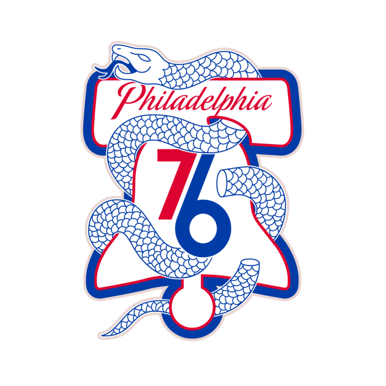 76ers to use 'snake' logo at center court for playoffs