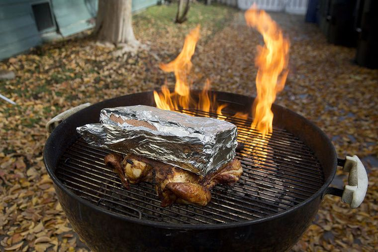 Winter chill? It's time to fire up the grill