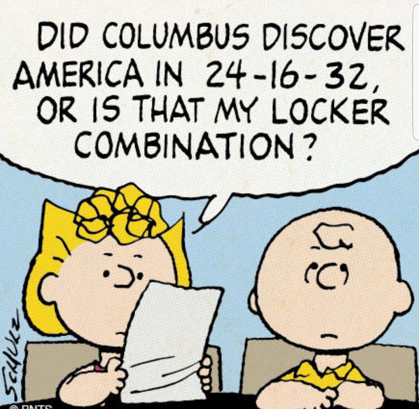 Columbus Day Charlie Brown Quotes Charlie Brown Snoopy Comics