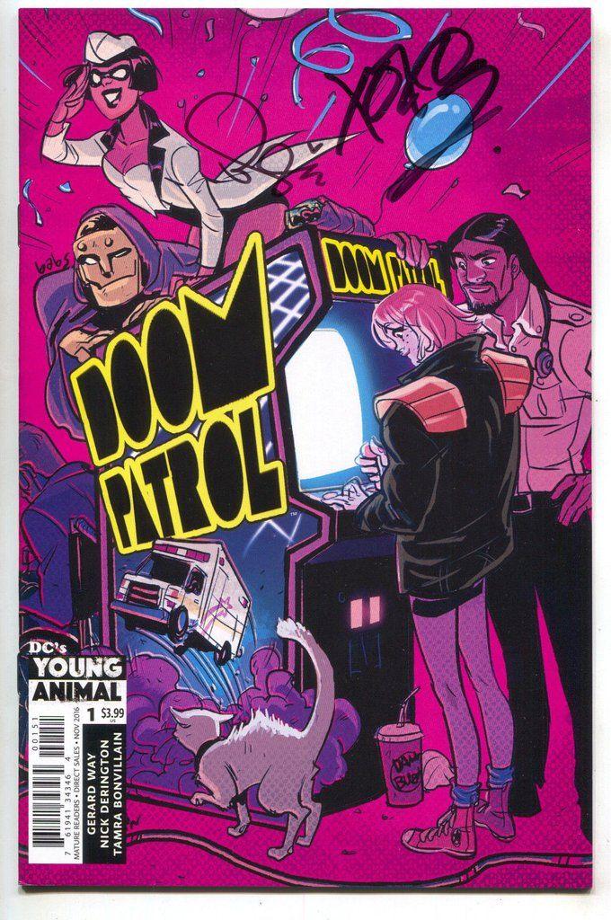 Pin by Peter D on Comics Art Doom patrol, Comics, Babs tarr