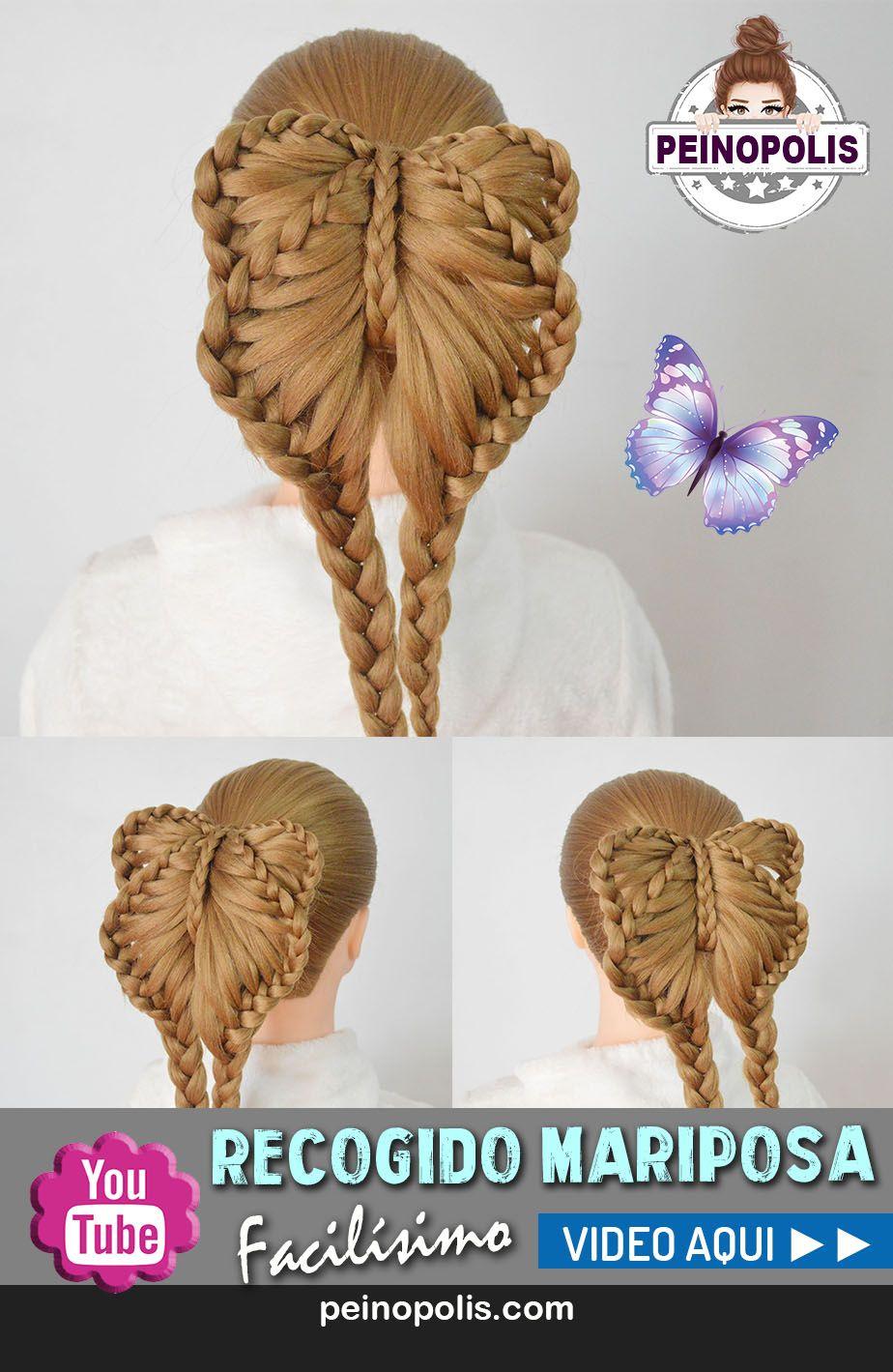 17 Peinados de trenzas de mariposa