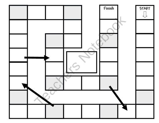 Game Boards: Free Game Board Template from Teaching With Heart In ...