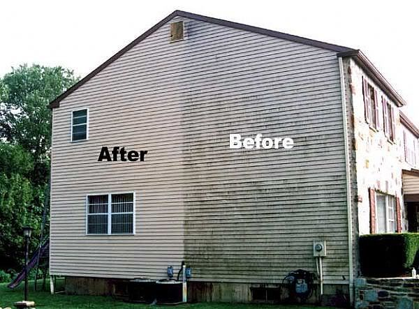 House Washing Proclean Power And Soft Wash House Wash Cleaning Vinyl Siding Vinyl Siding House