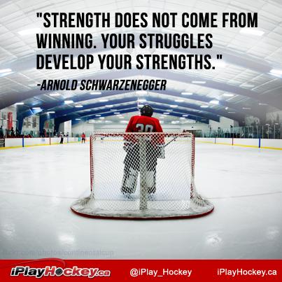 Iplayhockey Ca Hockey Inspirational Quotes Hockey Quotes Goalie Quotes