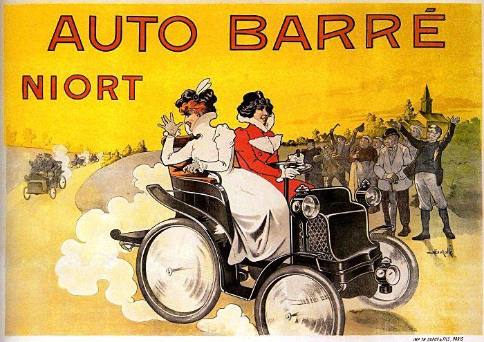 Marcellin Auzolle, Auto Barre Niort, 1895