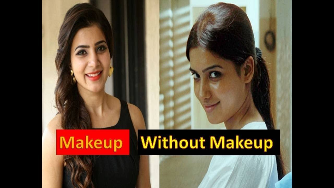 Top Tamil Actress With And Without Makeup Without Makeup Actress Without Makeup Photo Makeup