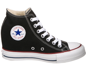 converse all star donna con zeppa interna