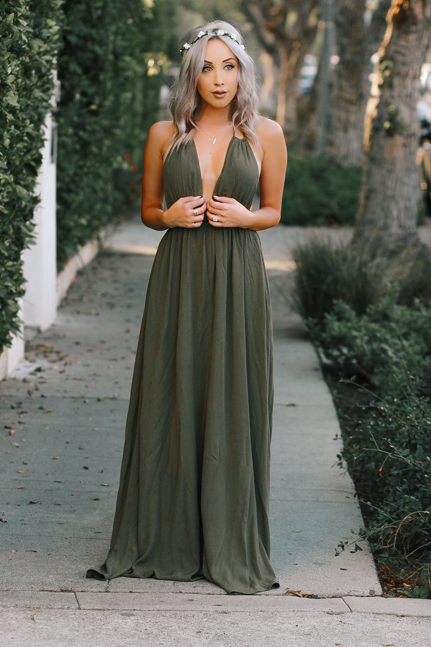 Blonde Bohemian Blondie In The City Olive Green Bridesmaid Dresses Bridesmaid Dresses Boho Green Bridesmaid Dresses