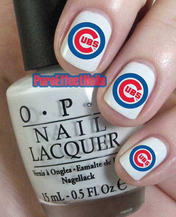Chicago Cubs nail designs - Google Search | Nails for anything ...