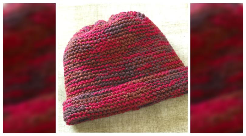 Grandma\'s Favorite Knit Garter Stitch Hat Pattern | Labores, Gorros ...