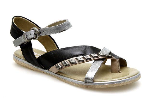 Sandales MJUS 269003 Noir / Metal - Chaussures femme