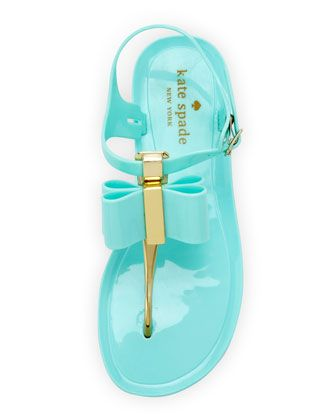 e4d6dd437 Kate Spade New York filo bow jelly thong sandal