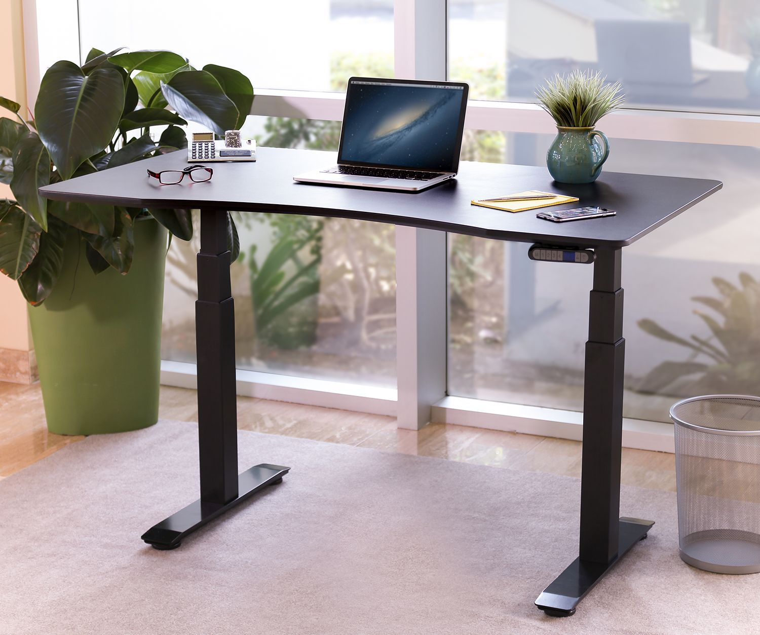 Airlift xl sitstand mobile desk white pinterest desks