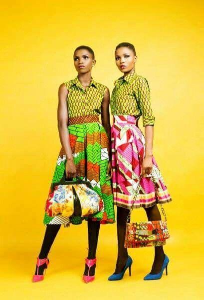 Noble schicke & bunte Stücke. Modell: Isis Modelagentur Thema: Afrikanischer Druck aka Ankara #afrikanischerdruck