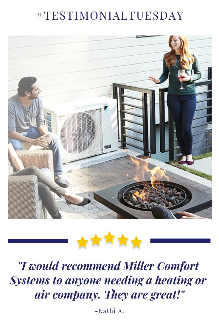 Customer Testimonial Indoor air quality, Hvac services